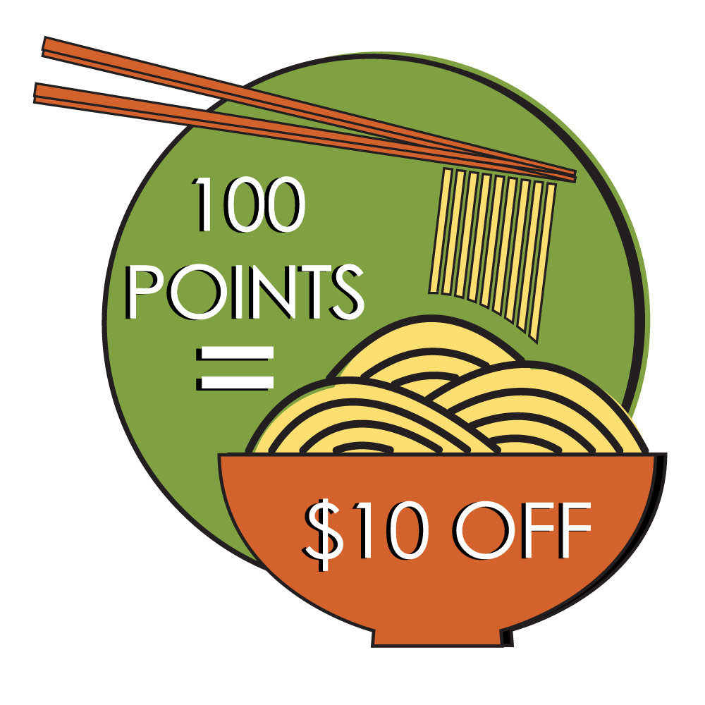 100pts equals $10 off
