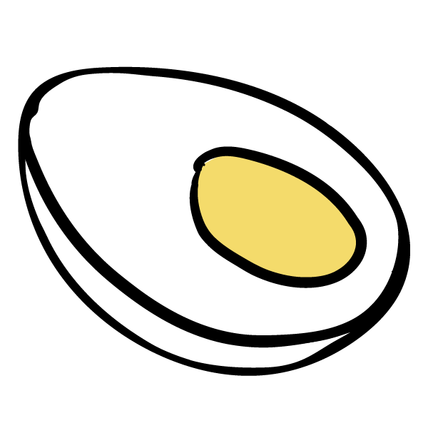 Soft Boiled Egg Icon